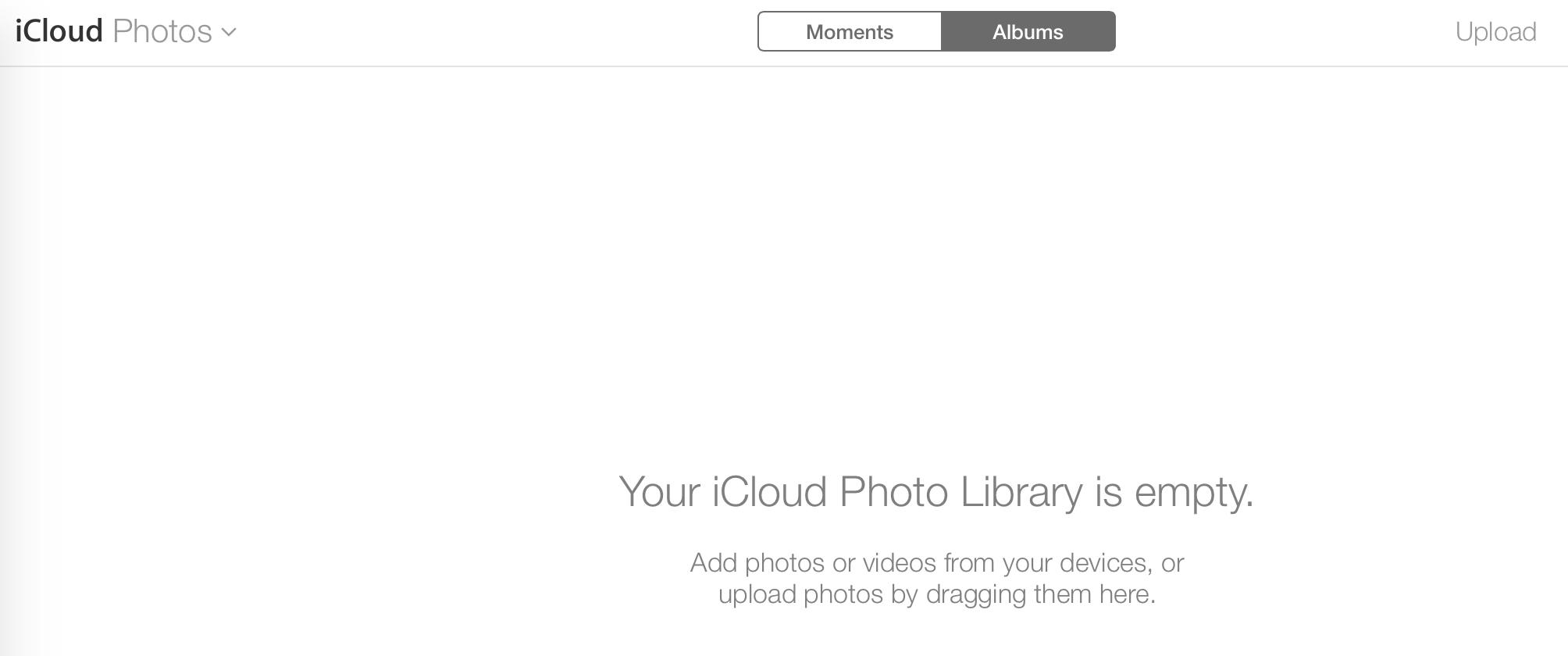 icloud photos upload