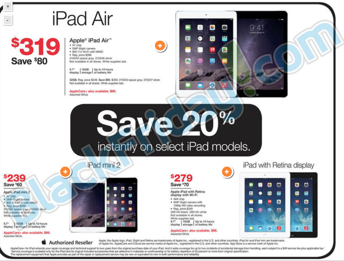 Staples discounting iPads, Apple TV and Beats headphones in