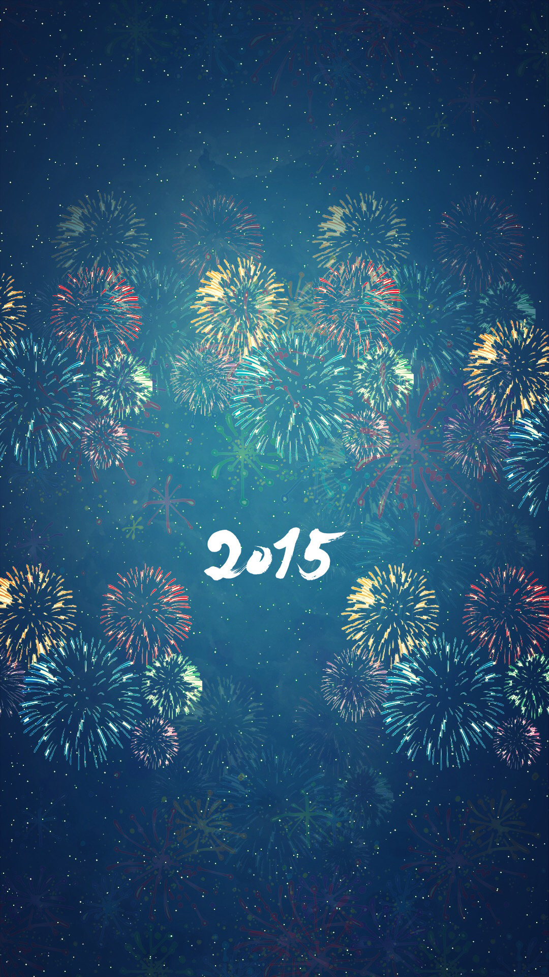 AR72014 iPhone New Year 2015 Lock screen wallpaper