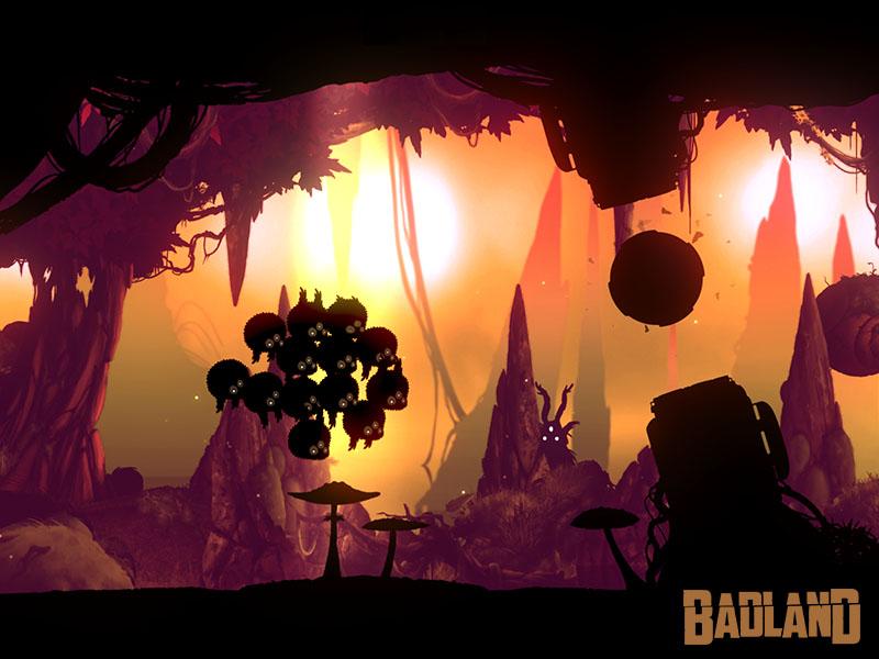 Captura de pantalla del iPhone de la actualización de Badland Daydram