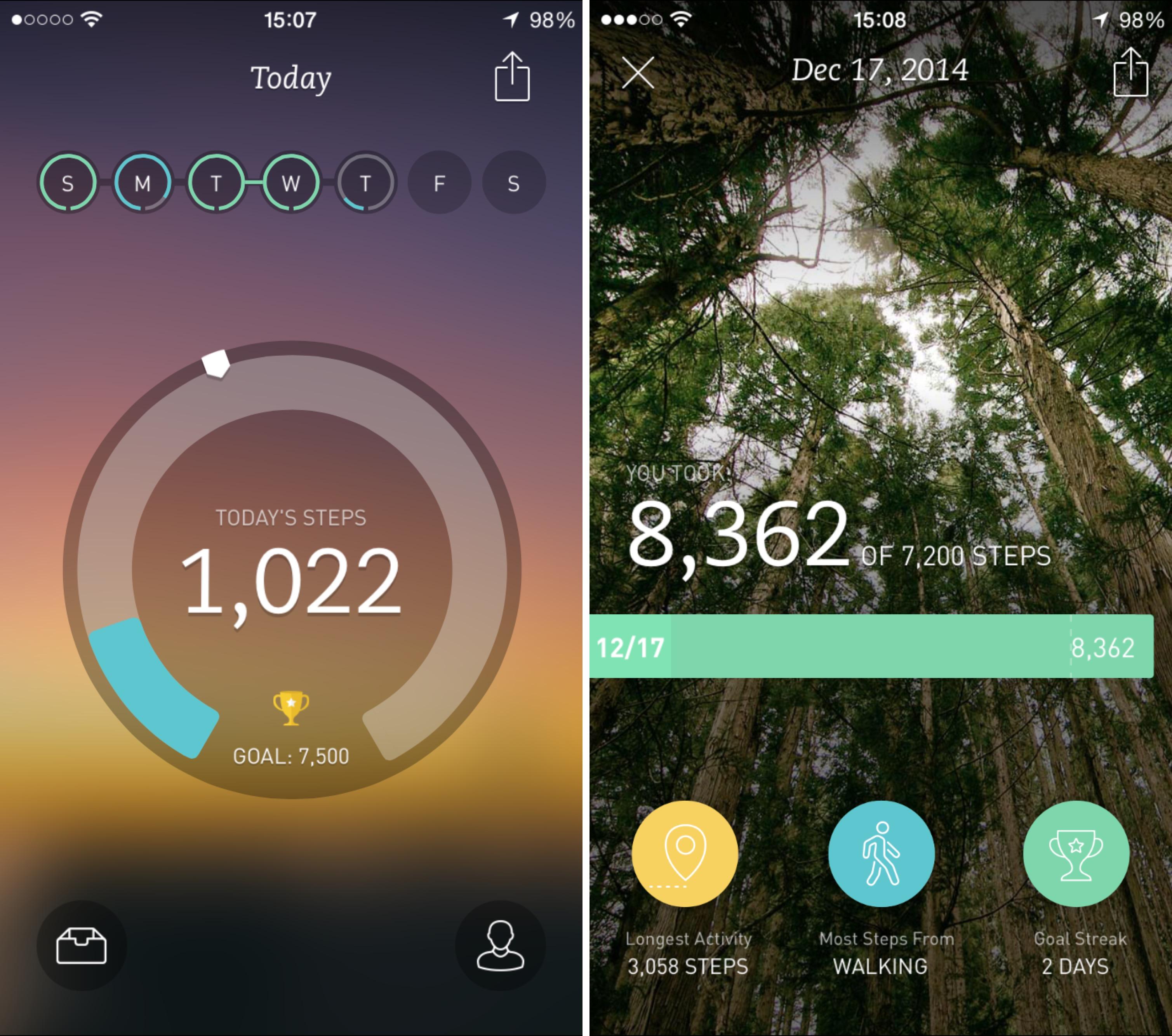Breeze mejor aplicación de fitness 2014