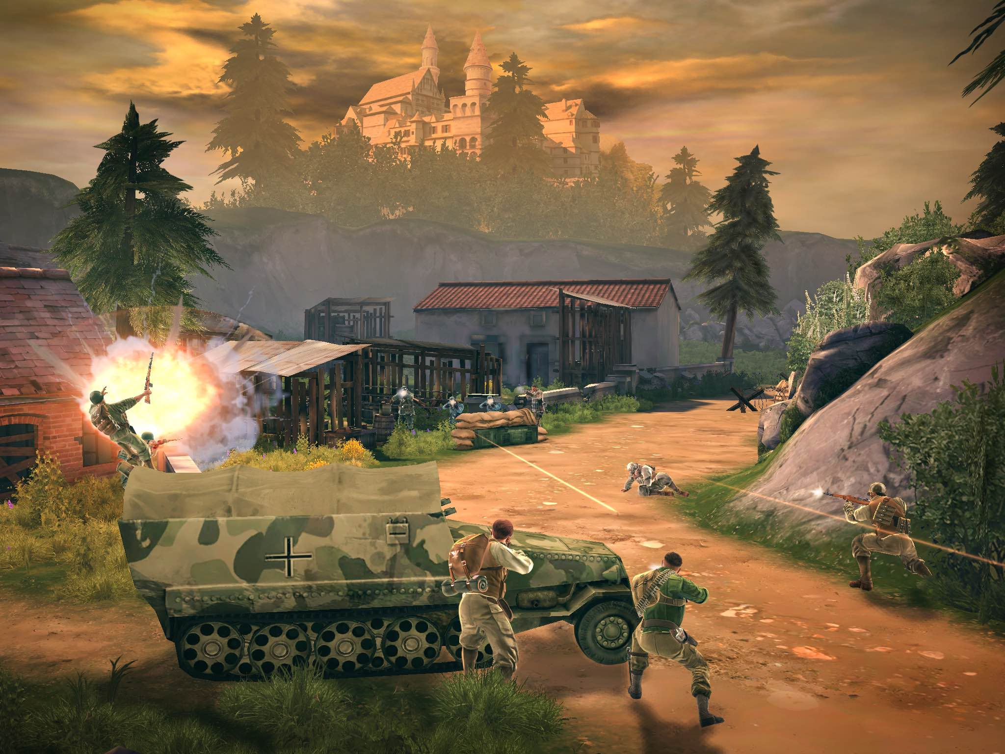 Brothers in Arms 3 for iOS screenshot 004