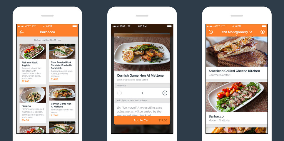 Square's new Caviar app lets you order food from top-rated