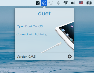 Duet Display Mac client