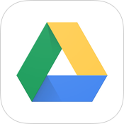 Google Drive 3.4 for iOS (app icon, small)