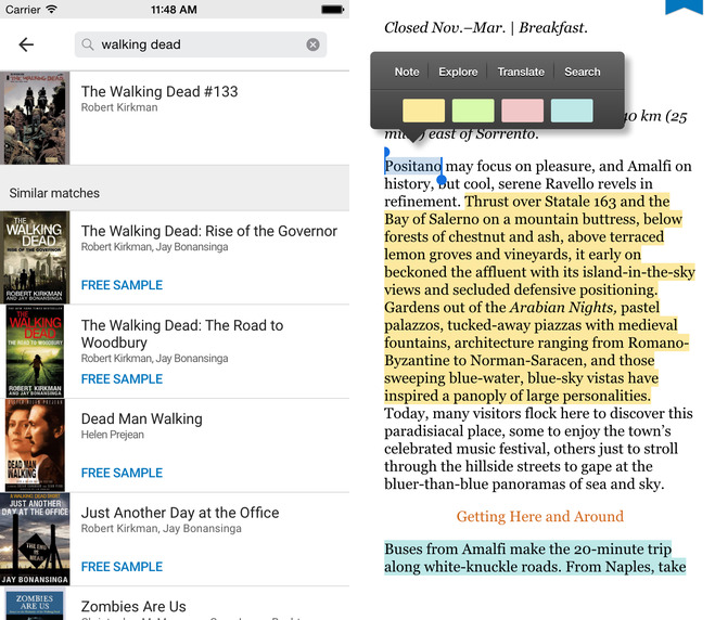 Google Play Books 2.0 for iOS (iPhone screenshot 002)