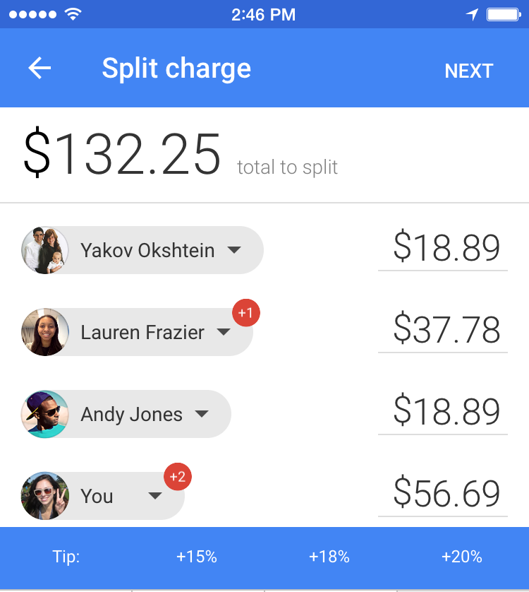 Google Wallet 8.174.19 para iOS (captura de pantalla iPhone 003)