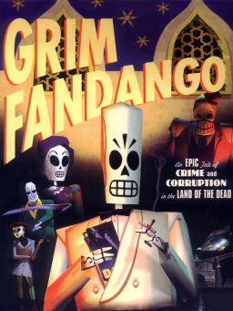 Grim Fandango (box artwork)