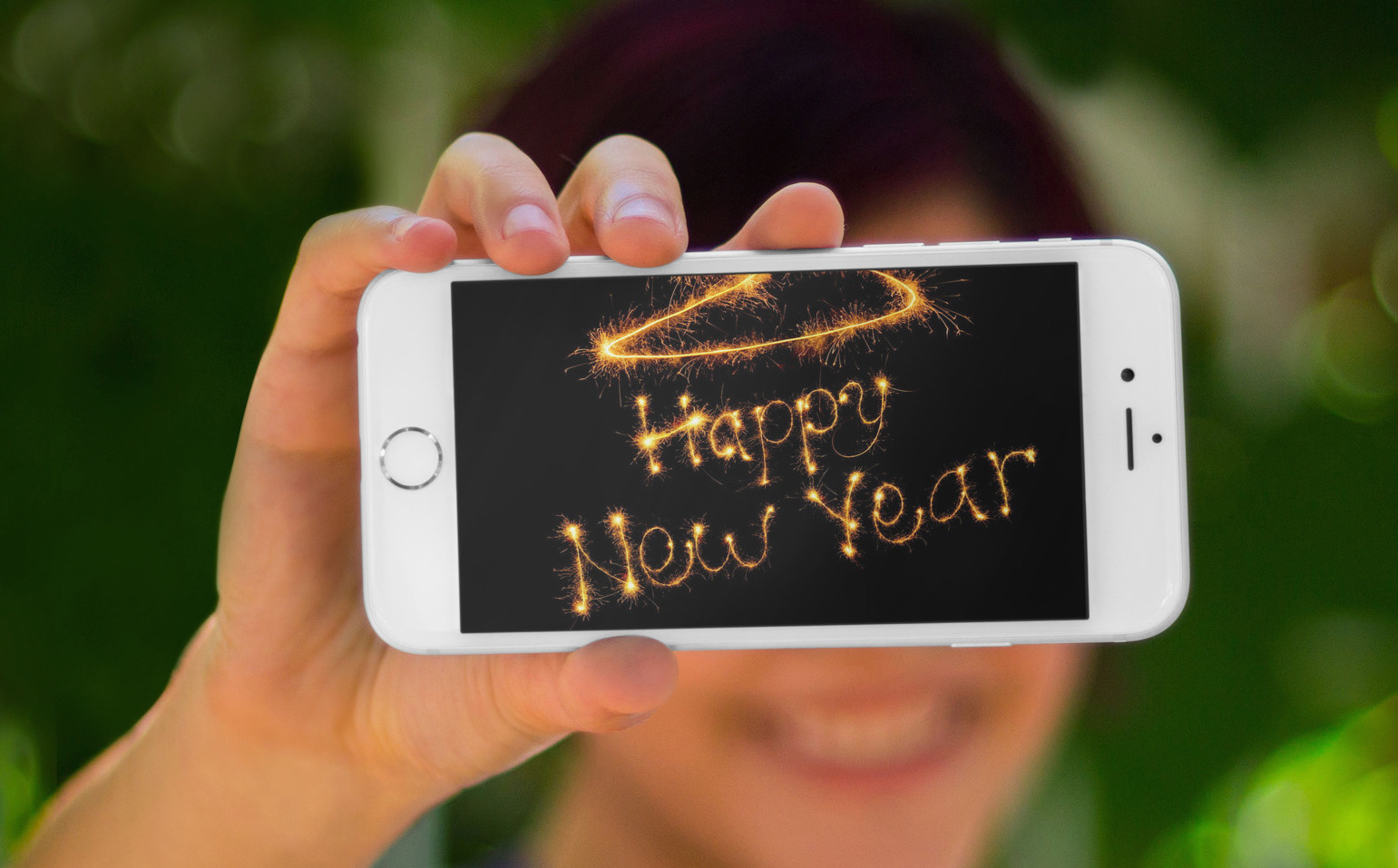 Happy new year iPhone 6