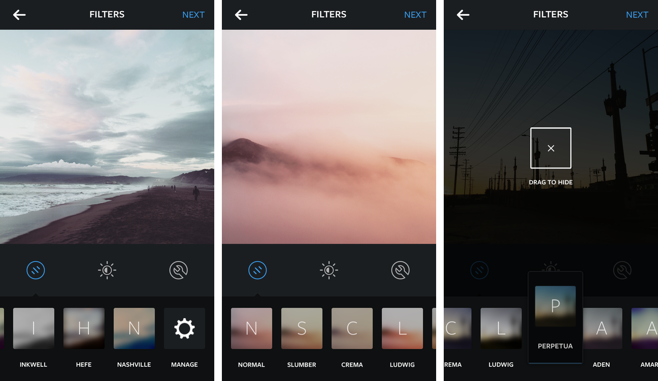 Instagram for iOS (five new filters 003)