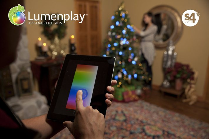 Lumenplay (app-enabled Christmas lights 001)
