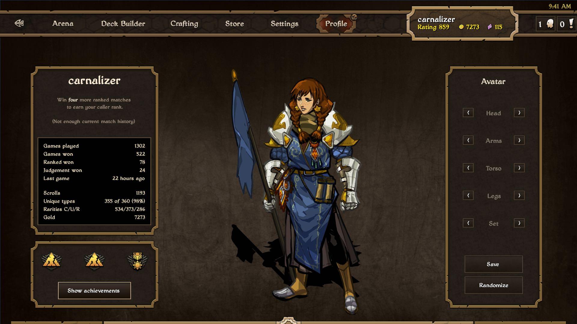 Mojang Scrolls screenshot 004