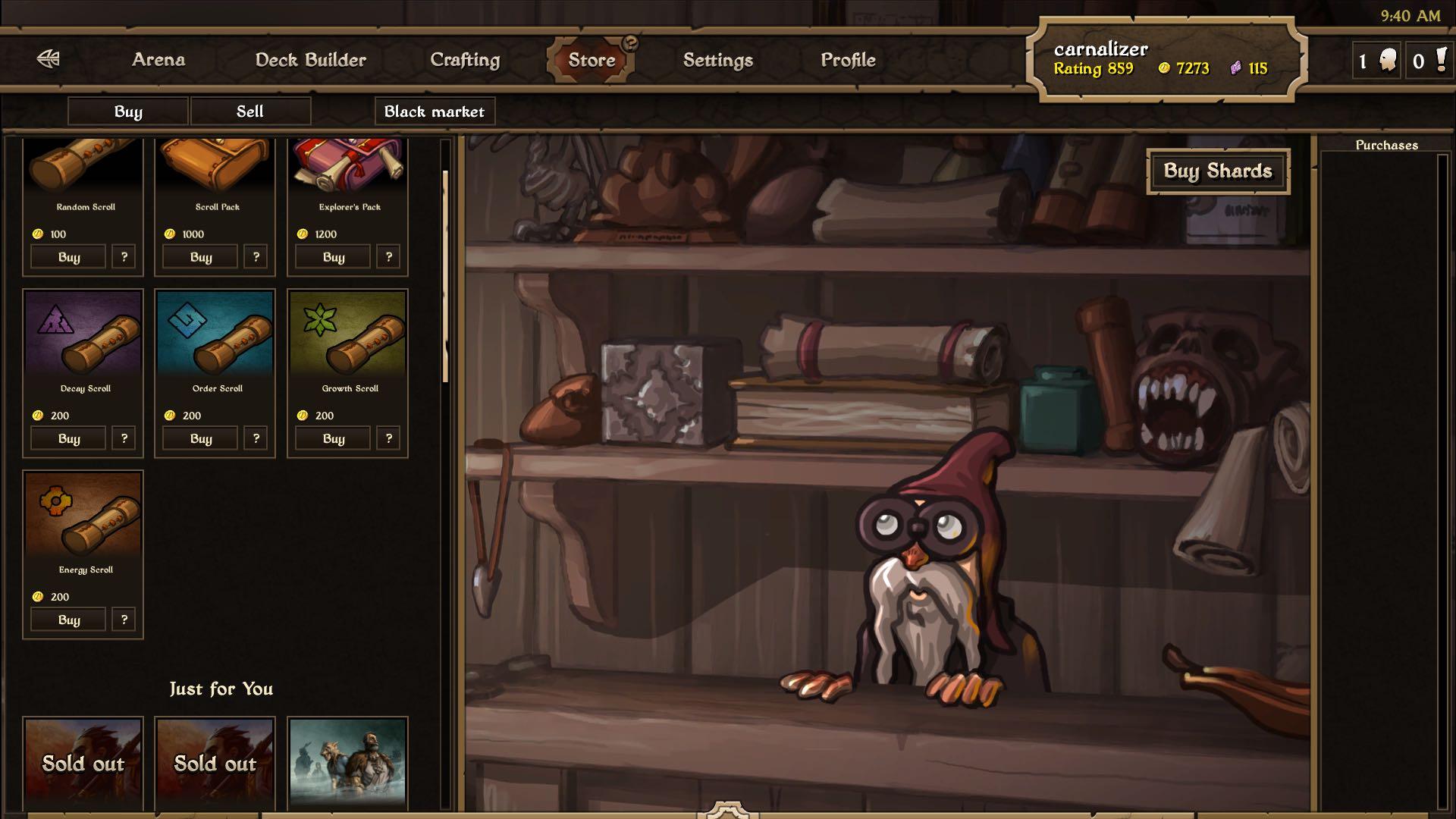 Mojang Scrolls screenshot 005