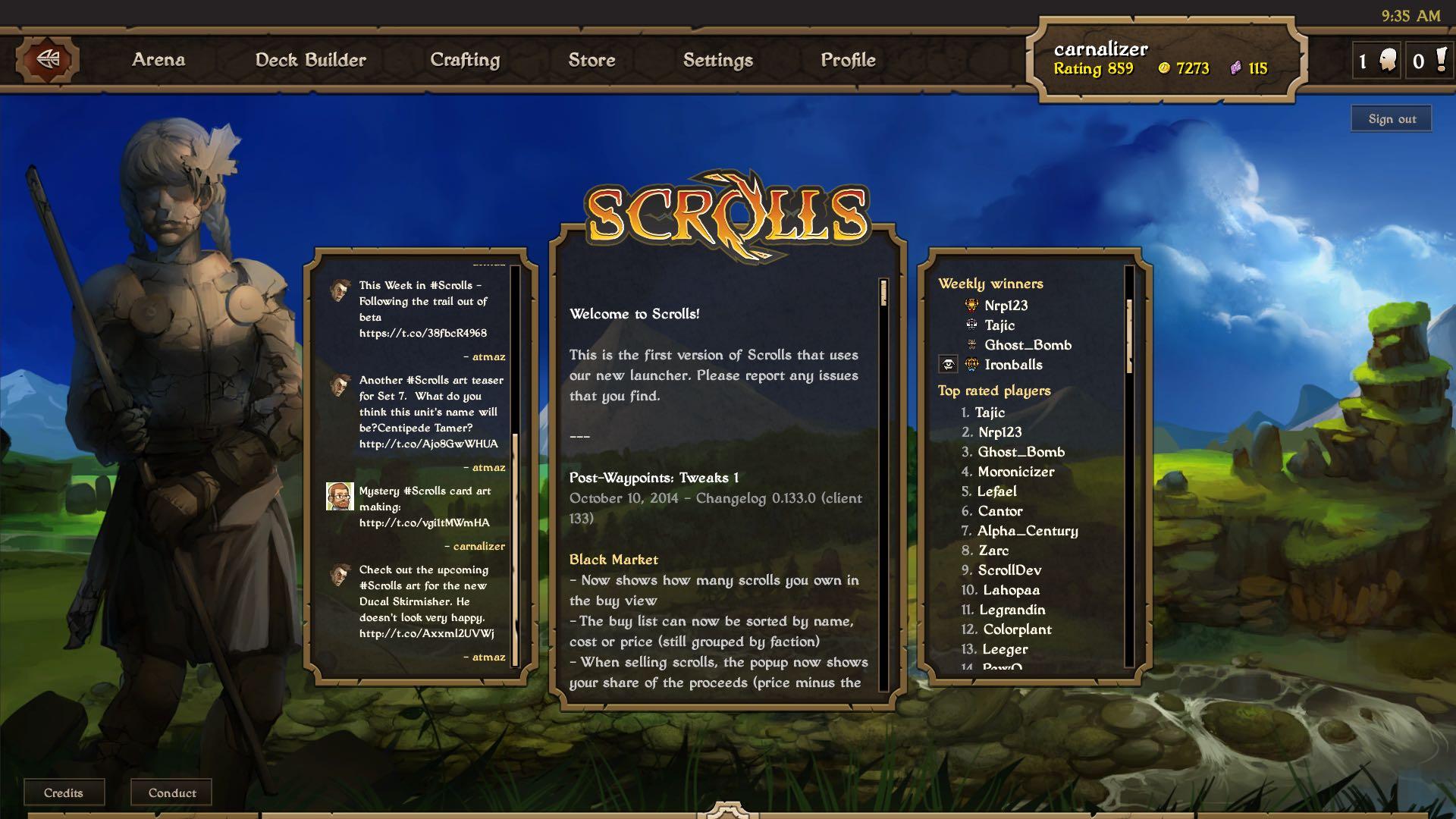 Mojang Scrolls screenshot 007
