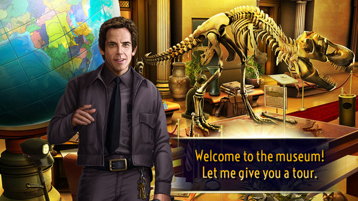 Night at the Museum - Hidden Treasures for iOS (iPhone screenshot 001)