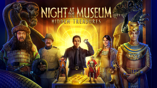 Night at the Museum - Hidden Treasures for iOS (iPhone screenshot 005)