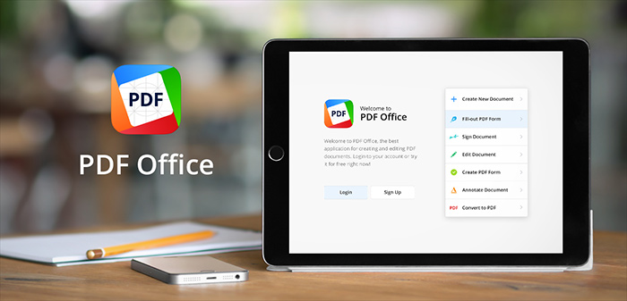 PDF Office 1.0 for iOS teaser