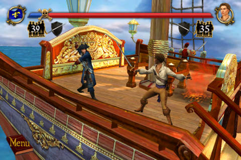 Sid Meier Pirates for iOS iPhone screenshot 001