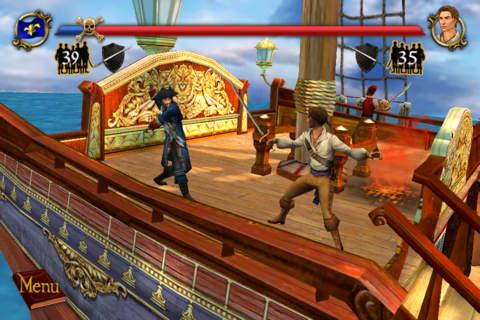 Sid Meier Pirates for iOS iPhone screenshot 001