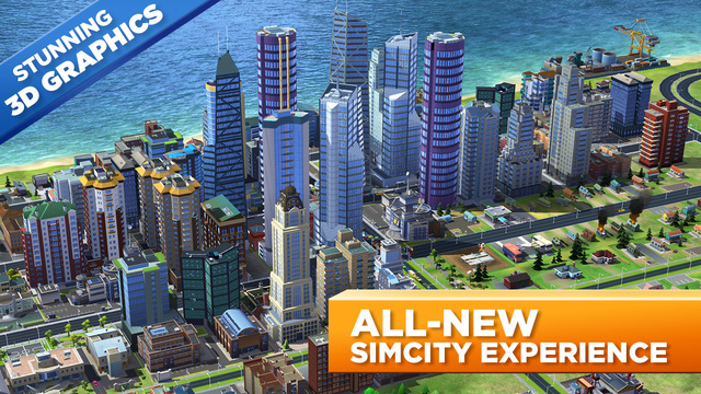 SimCity BuildIt 1.2.19 for iOS iPhone screenshot 001