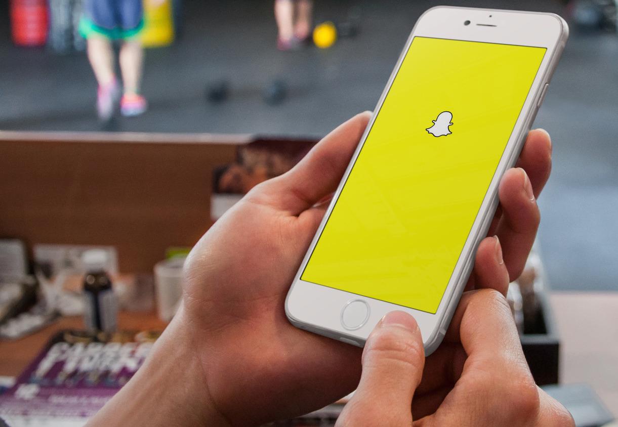 Snapchat iPhone 6