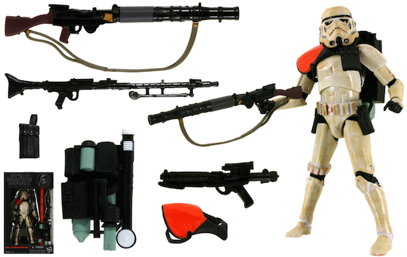 Star Wars Sandtrooper Black Series