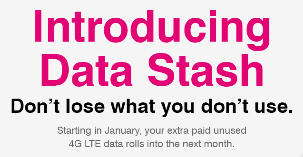 T-Mobile Data Stash