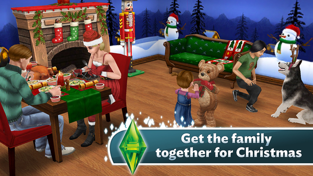 The Sims FreePlay 5.1 for iOS iPhone screenshot 001