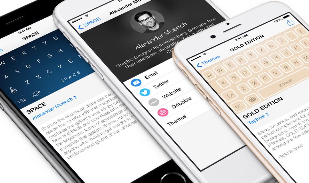 Themeboard 1.0 para iOS (teaser 001)