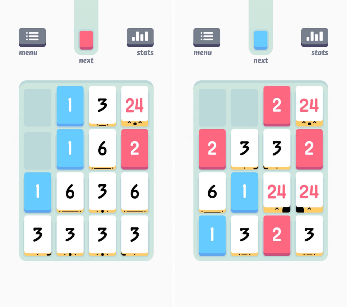 Threes best game