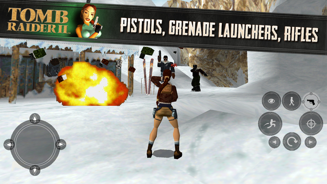 Tomb Raider II 1.0 for iOS (iPhone screenshot 002)