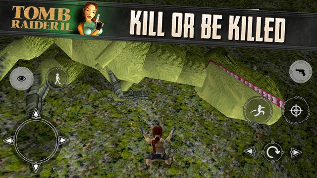 Tomb Raider II 1.0 for iOS (iPhone screenshot 003)