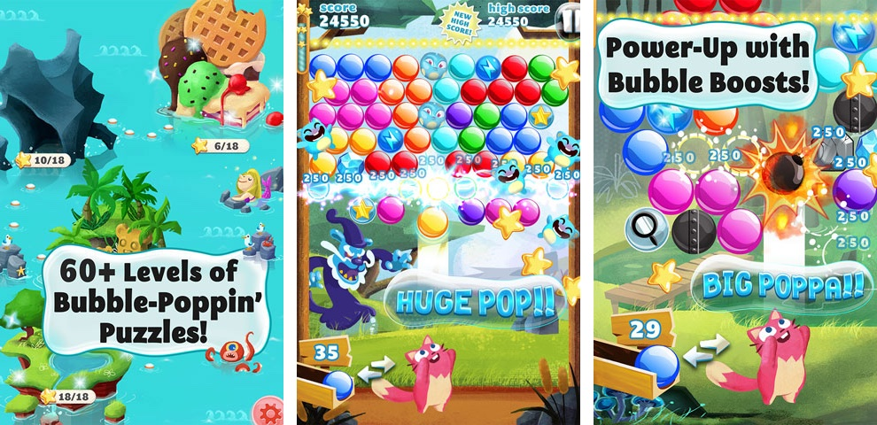 Viber Game Bubble Mania