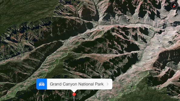 grand canyon maps