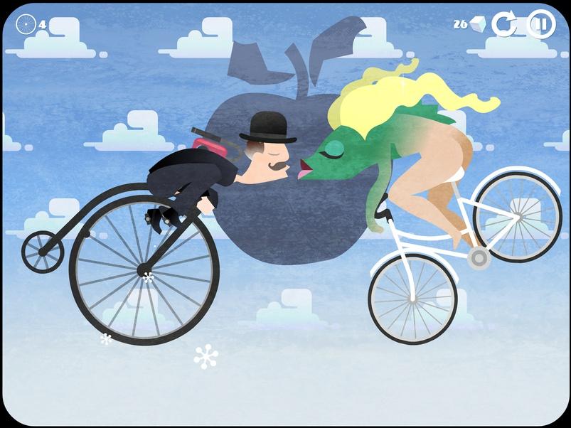 Captura de pantalla 001 de icycle On Thin Ice 1.0 para iOS iPhone