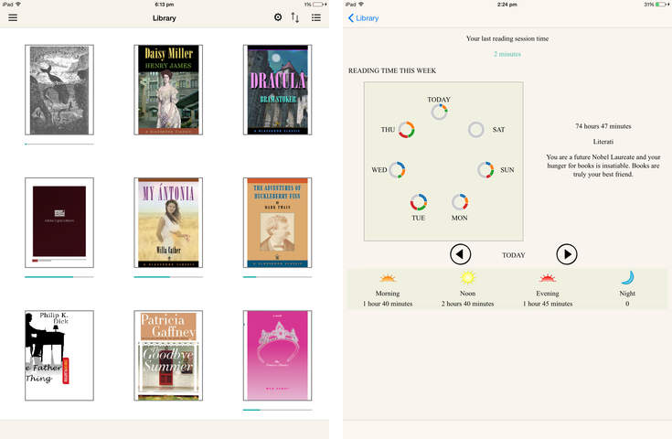 Adobe Digital Editions 1.0 for ios iPad screenshot 002