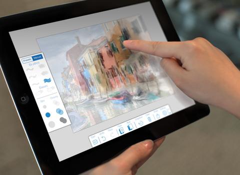Adobe PaintCan for iOS iPad teaser 001