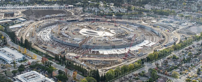 Apple Campus 2 December 2014