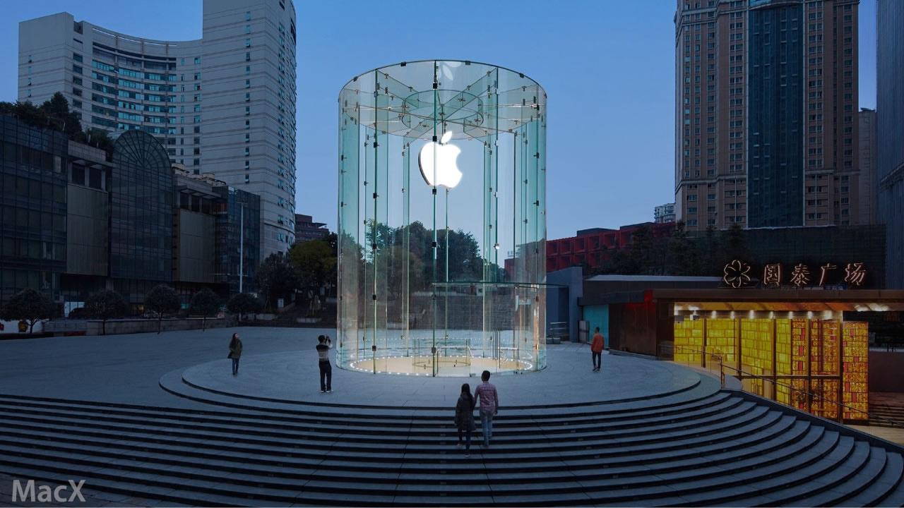 Apple Store China Chongqing MacX photo 001