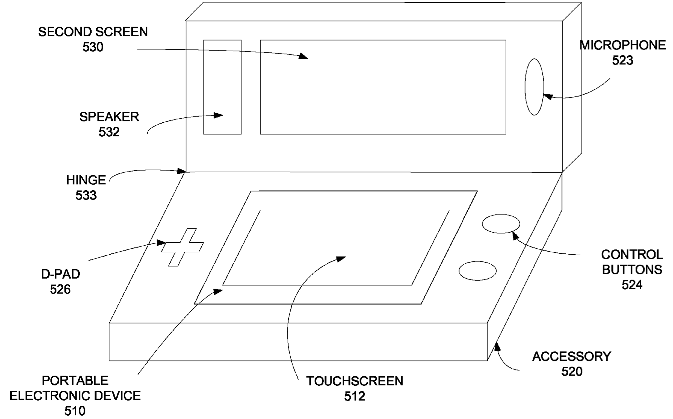 Apple patent snap-on iPhone gaming accessor 002