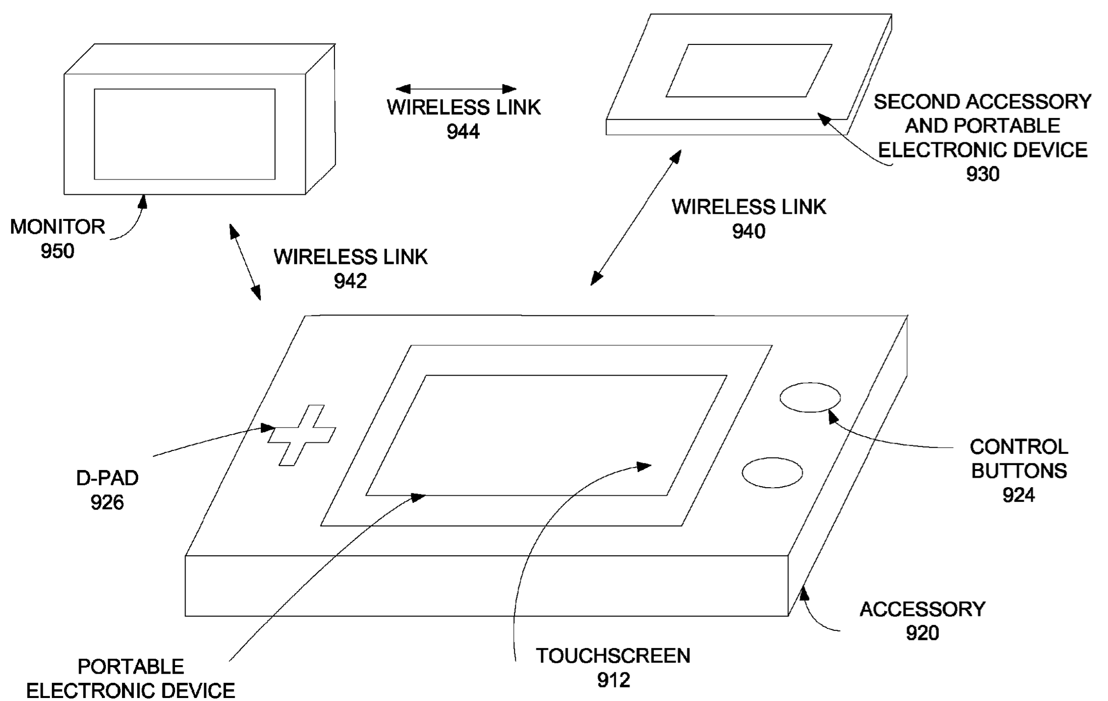 Apple patent snap-on iPhone gaming accessor 004