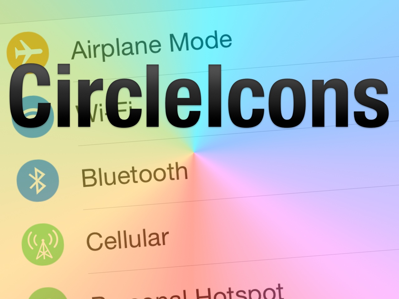 how to change icon shape on iphone without jailbreak