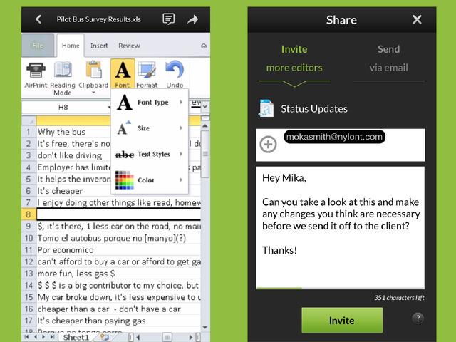 Captura de pantalla 001 de CloudOn 7.1 para iOS iPhone