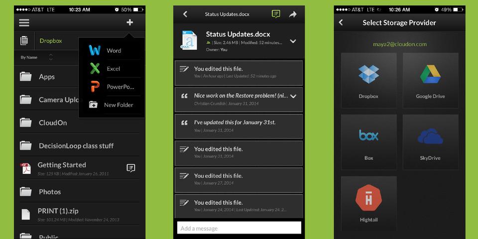 Captura de pantalla 002 de CloudOn 7.1 para iOS iPhone