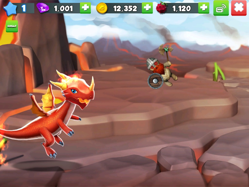 Dragon Mania Legends for iOS iPhone screenshot 001 training