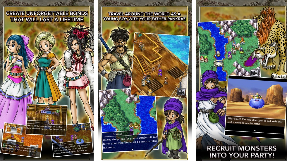 Dragon Quest V for iOS iPhone screenshot 001