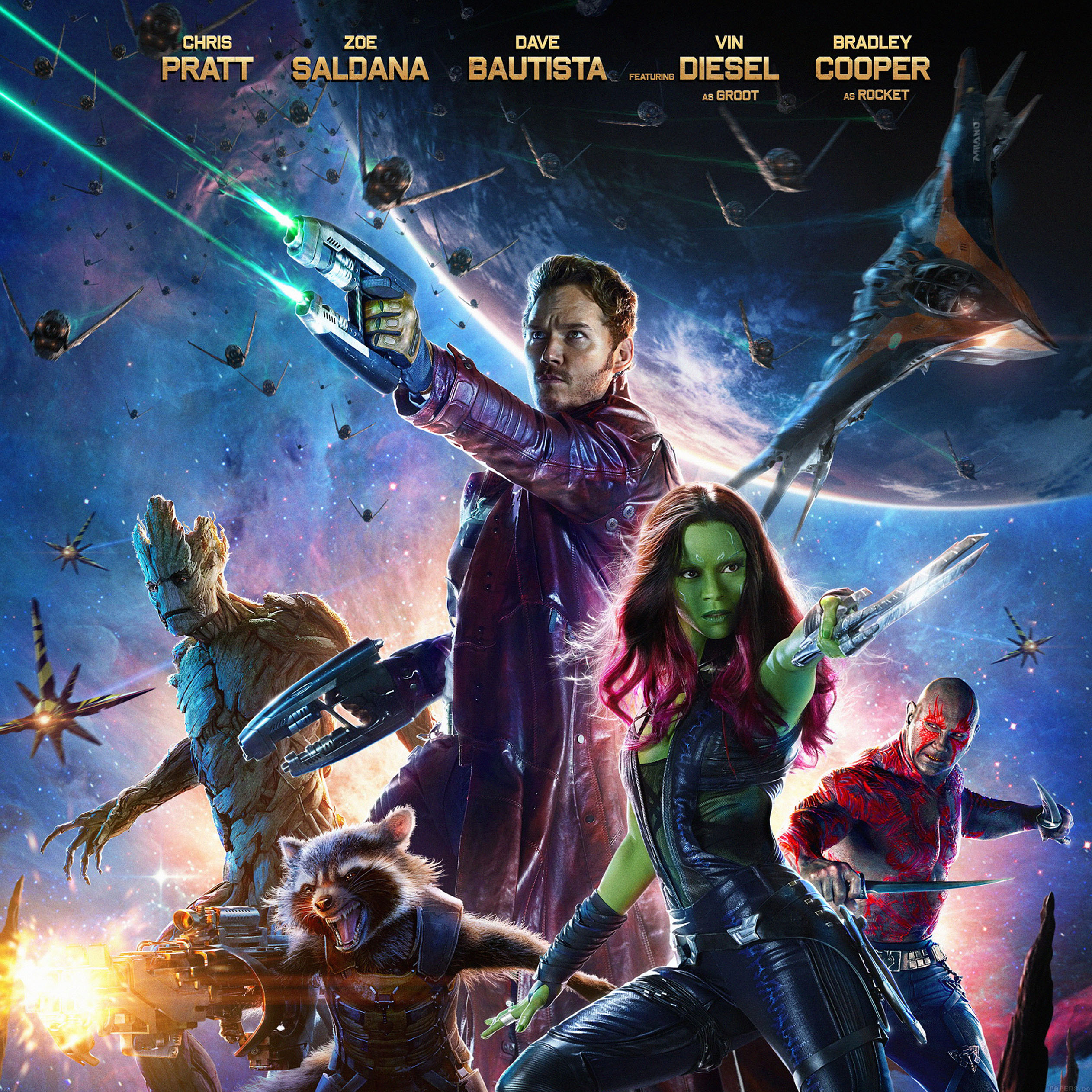 Guardians of the Galaxy Poster iPad