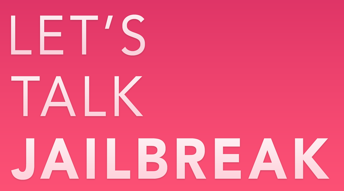 Let's Talk Jailbreak banner