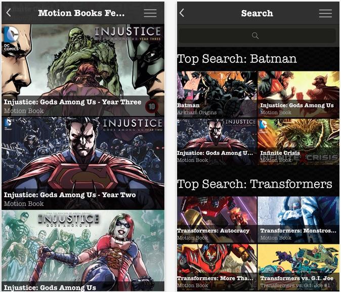 Madefire Comics