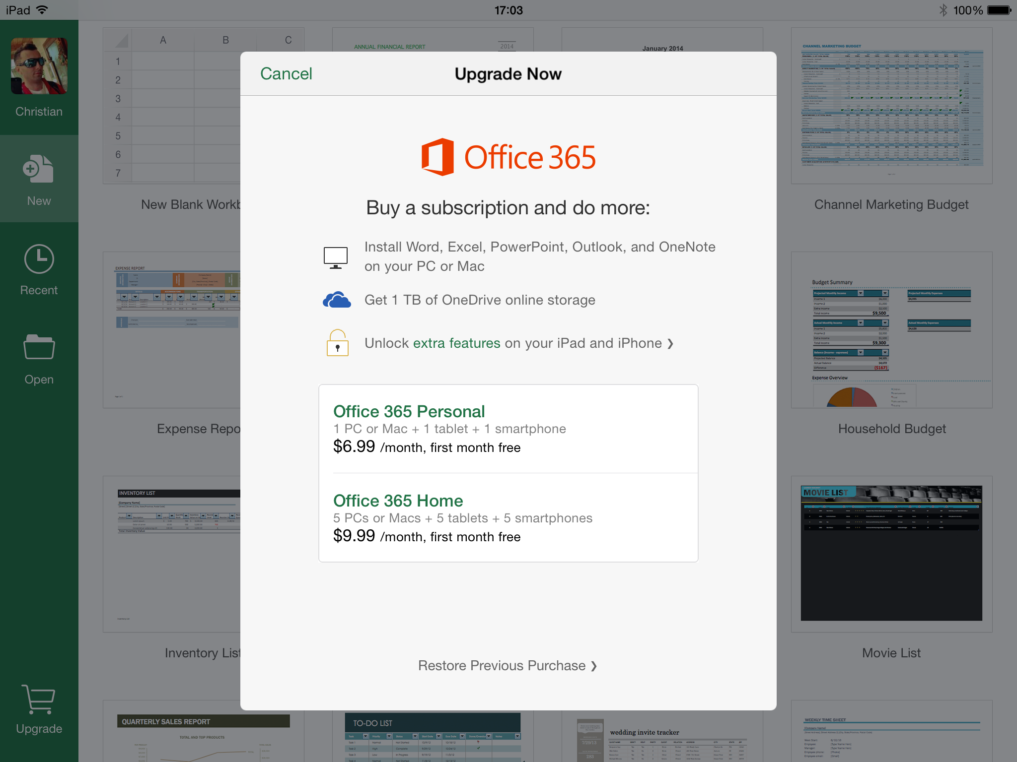 Microsoft Office 365 first month free 001